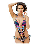 Women  Piece Swimsuit Sexy halter Swimsuit Hollow Piece Swimsuit