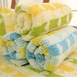 Wash A Face Towel, Heart-shaped Stripe Towel