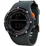 스포츠 시계 남성 / 아가씨들 / 남여공용 LCD / 고도계 / Compass / 맥박 측정기 / 온도계 / 달력 / 듀얼 타임 존 / 스포츠 시계 디지털 디지털