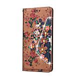 Rhinestone Bling Leather Case For LG V10/K8/K7/G5/G4/G3/LS770  Flip Cover Print Flower