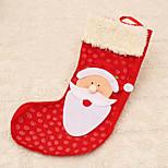 1pc père lit rouge arbre sac   de stockage décoration pendaison articles de fête en plein air cadeau de Noël