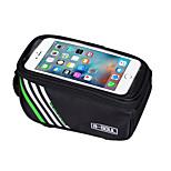 Bike Frame Bag Phone Holder / Phone/Iphone / Touch Screen / Shockproof Cycling/Bike Nylon Green / Red / Blue B-SOUL