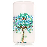 Tree Pattern Relief Glow in the Dark TPU Phone Case for Motorola Moto G4 Play / G 4