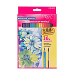 Marco Allen 36 Color Water-Soluble Colored Pencils Child Student Painting Graffiti