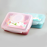 YOOYEE  Eco Friendly 3-Compartment Bento Lunch Box Containers China Factory