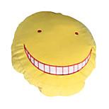 Assassination Classroom Korosensei Yellow / Purple Cotton Pillow