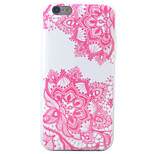 HD Diagonal Painted Flower Pattern Material TPU Phone Case For iPhone SE 5s 5 6s 6 6s Plus 6 Plus