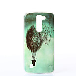 Dandelion Pattern TPU Material Phone Case for LG K10/K7