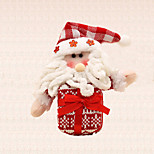 1pc Merry Christmas Tree Decoration Gift Santa Claus Charm Tree Hanging Pendant for Children Present