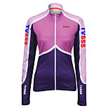 Sports Cycling Tops Women's Bike  Front Zipper / Ultra Light Fabric Long Sleeve LYCRA® / Terylene / CoolmaxClassic