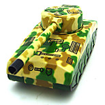 Tanks Wind-up Toy Leisure Hobby  Metal Green For Kids