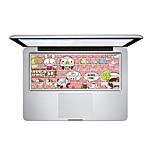1 pièce Anti-Rayures En Plastique Transparent Décalcomanie Image de Cartoon PourMacBook Pro 15 '' avec Retina / MacBook Pro 15 '' /
