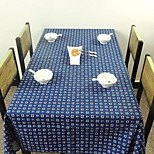 New Canvas Printing Table Cloth Background Cloth Refrigerator Cover Towel (140 * 140cm)