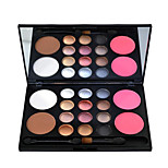 Color Eye Shadow Blush Powder Makeup Makeup Special Combination Box