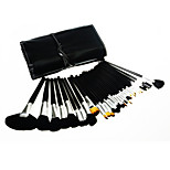 32pcs Makeup Brushes Set Goat Hair Portable Plastic Face Others