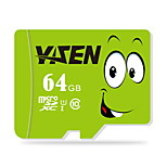 yisen 64GB UHS-I u1 / aula 10 microSD / microSDHC / microSDXC / tfmax ler speed80 (mb / s)