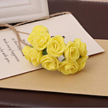 Pe Foam Flower Flower Pe Wreath Of Roses Diy Candy Box Accessories 144 / Pack