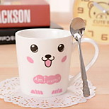 Ceramic Cup Set Couples Milk Coffee Cup