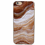 Para Funda iPhone 7 / Funda iPhone 6 / Funda iPhone 5 Diseños Funda Cubierta Trasera Funda Mármol Suave TPU AppleiPhone 7 Plus / iPhone 7