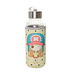Cartoon Stainless Steel Water Bottle Transparent