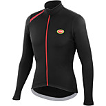 Sports Bike/Cycling Tops Men's Long Sleeve Breathable /  Ultra Light Fabric / Thermal / Warm LYCRA® / Terylene