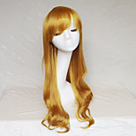 Cosplay Wig Golden Color Cast Long Curly Hair Wig 30Inch Points