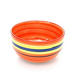 Hand-Painted Tableware Rice Bowl Soup Bowl Of Instant Noodles Rainbow When Heated Bowl Household Ceramic Bowl