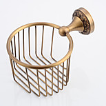 Antique Brass Bathroom Accessories Brass Material Toilet Paper Holder