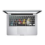 Super MOE Color 009 Keyboard PVC Scratch Proof For MacBook Air 11 13 15,Pro13 15,Retina13 15,MacBook12