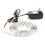 2M  SMD5050 Hydroponic Systems Led Plant grow light Waterproof Led Grow Strip Light 300LEDS Full spectrum Grow Box