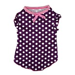 Lovely Polka Dots Pattern Pet T-Shirt