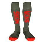 Skiing Socks Black RED 41-45