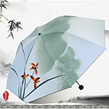 Chinese Ink And Wash Sunny And Rainy Umbrella