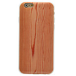 Wooden Pattern IMD Crafts TPU Material High Quality Soft Phone Case for iPhone SE 5 5S 6 6S 6 Plus 6S Plus