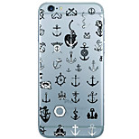 Anchors Pattern  Transparent TPU Material Phone Case for iPhone 6 6S  6 Plus 6S Plus