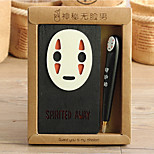 Mysterious Faceless Faceless Male Man Notebook Notebook Diary Notepad Hayao Miyazaki Anime Spirited Away