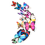 Animals Wall Stickers 3D Wall Stickers Decorative Colorful Wall Stickers / Fridge Stickers / Wedding Stickers