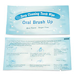 Grinigh Finger Slip-on Disposable Teeth Wipes for Oral Cleaning 24 Count for Pre and Post Teeth Whitening