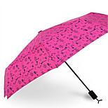 Seventy Percent Off Folding Umbrella Floral Umbrella Uv Ultra Portable