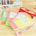 2278-14 Korean Stationery Korean Version Of Sweet Candy Mixed Colors Voca Long Section Of The English Word Present