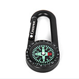 Compasses Directional Camping / Travel / Outdoor Aluminium Alloy Black / Other