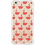 Für iPhone 6 Hülle / iPhone 6 Plus Hülle Wasserfest / Stoßresistent / Staubdicht / Transparent Hülle Rückseitenabdeckung Hülle Tier Weich