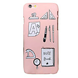 Para Capinha iPhone 6 / Capinha iPhone 6 Plus Estampada Capinha Capa Traseira Capinha Estampa Geométrica Rígida PC AppleiPhone 6s Plus/6