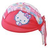 Red KITYY Cat Caps Cycling Outdoors Pirates Headband Mountain Road Cycling Sport Cap