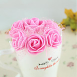 144 Yarn 3.5Cm With Pe Foam Roses Flower Candy Box Accessories