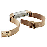 Gold Black Sliver Milanese Stainless Steel Watch Band Strap Bracelet For Fitbit Alta Tracker Watch Accessories