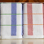 Pure Cotton Yarn Dyed Color Bar Lattice Clean Face Towel