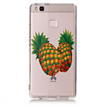 TPU Material Pineapple Pattern Painted Relief Phone Case for Huawei P9 Lite/P9/P8 Lite