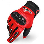 Off-Road Motorcycle Racing Gloves Tactical Gloves Cycling Fitness Wear Leather Armor Slip Microfiber