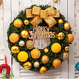 Hotel Shopping Arcade Carnival Christmas 40Cm Christmas Wreath Christmas Window Decoration